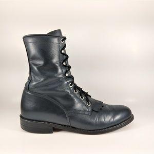 Justin Diamond L0502 Roper Kiltie Boots Womens